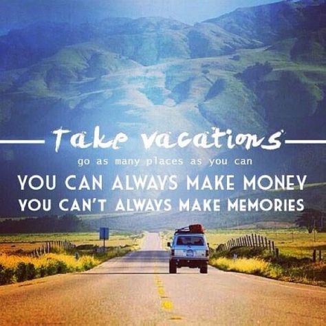 Are you traveling somewhere for your next vacation?