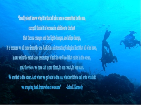 JFK knows why we love the ocean: Best quote ever