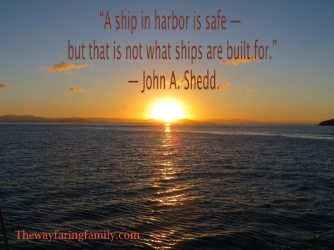 A Ship in Harbor is Safe