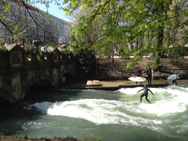 Urban Surfing in Munich: