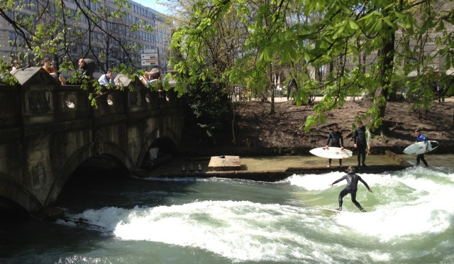 Urban Surfing in Munich: