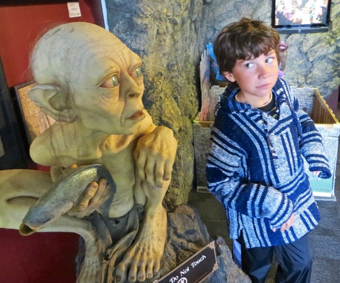 #94 Visit Weta Cave in Wellington, NZ : 100 Family Travel Experiences