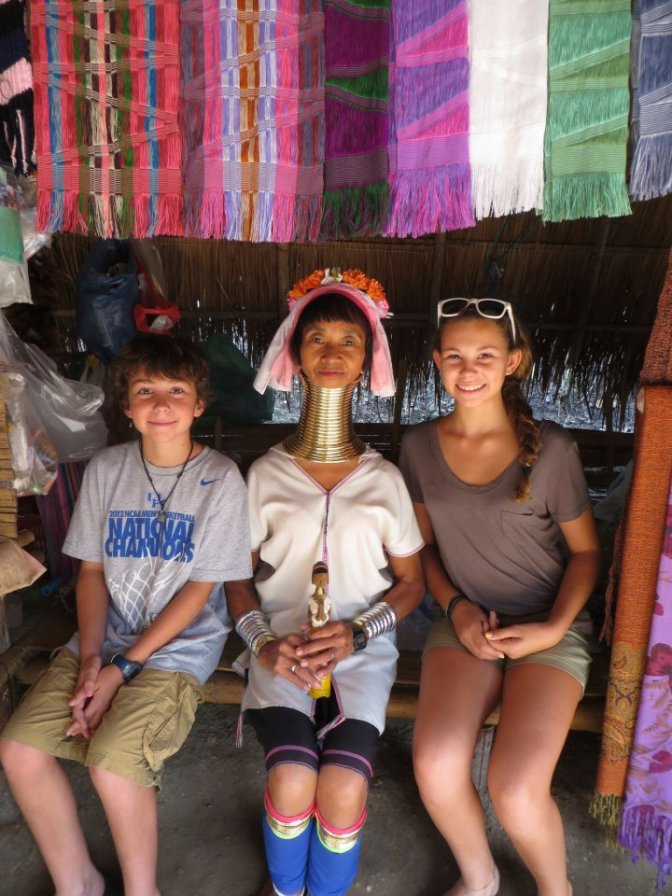 #63 Meet the Karen Longneck Tribe, Thailand: 100 Family Travel Experiences