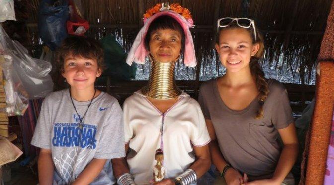 #63 Meet the Karen Longneck Tribe, Thailand: 100 Family Travel Experiences