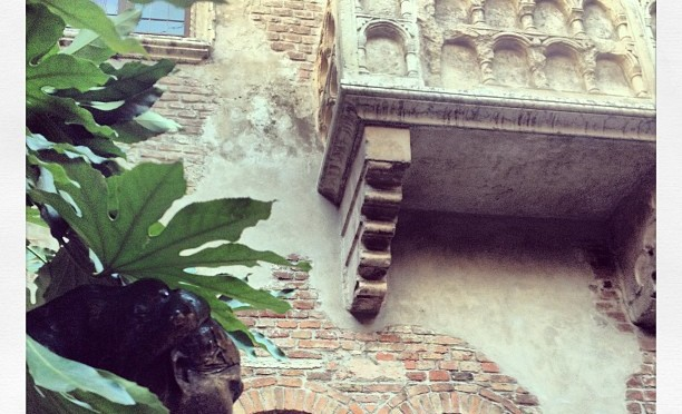 #53 Visit Juliet's Balcony in Verona, Italy: 100 Family Travel Experiences